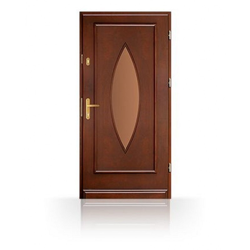 Vchodové dřevěné dveře CB-8a