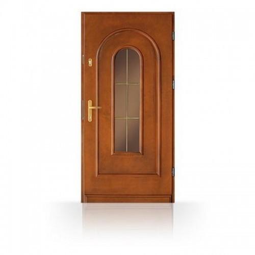 Vchodové dřevěné dveře CB-11