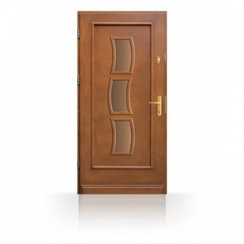 Vchodové dřevěné dveře CB87