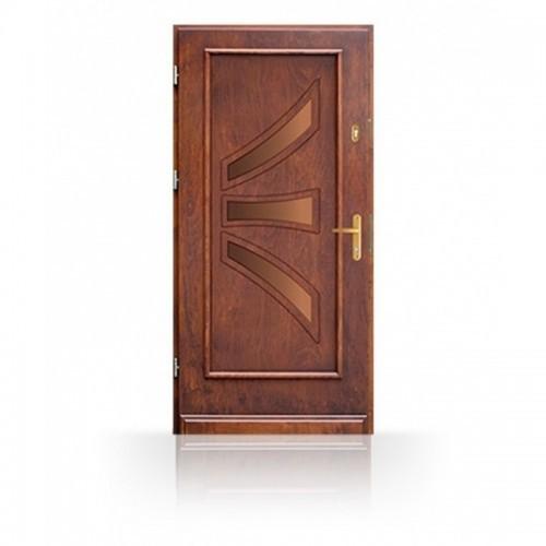 Dřevěné vchodové dveře CB86