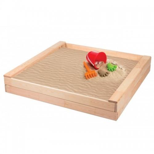 Dětské dřevěné pískoviště-přírodní