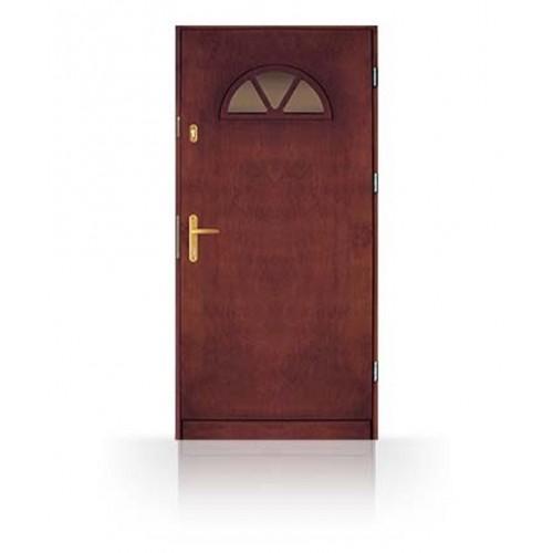 Masivní vchodové dřevěné dveře CN14-90