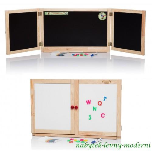 Dětská skládací tabule na stěnu SARON-2