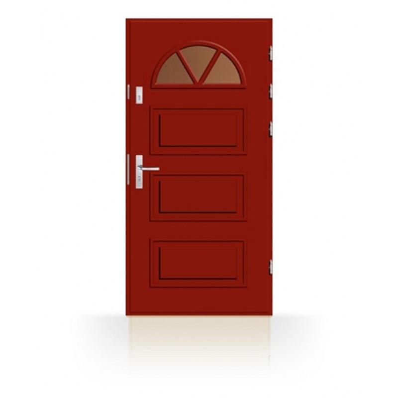 Dřevěné vchodové dveře CAB1 RK