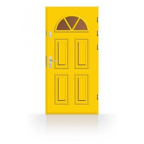 Dřevěné vchodové dveře CAB2 RK