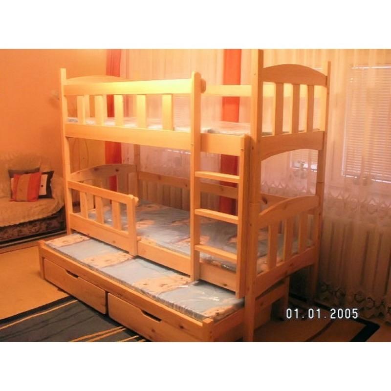 Dětská patrová postel Iza 3 tří osobová, všechny rozměry za stejnou cenu!