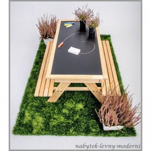 Dětský zahradní set + pískoviště + tabule