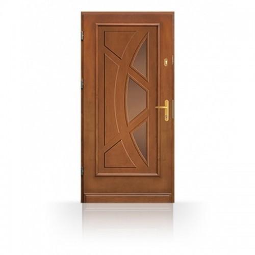 Kvalitní dřevěné vchodové dveře CB83-B