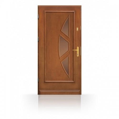 Kvalitní vchodové dřevěné dveře CB83-A