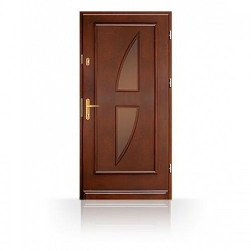 Dřevěné vchodové dveře CB74-B