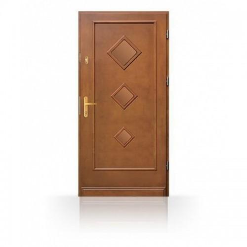 Vchodové kvalitní dřevěné dveře CB50-C