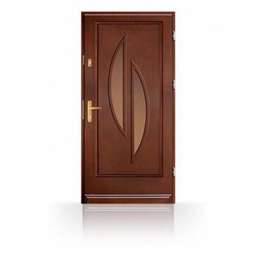 Kvalitní vchodové dveře CB53-Prosklené