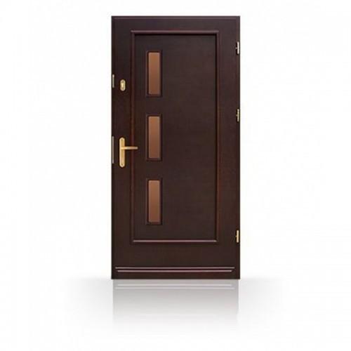 Vchodové dřevěné dveře CB62-A