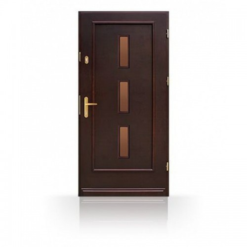 Vchodové dřevěné dveře CB62-B