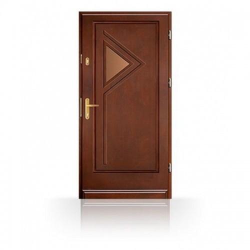 Vchodové dřevěné dveře CB57