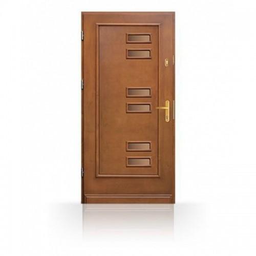 Dřevěné vchodové dveře CB63-A