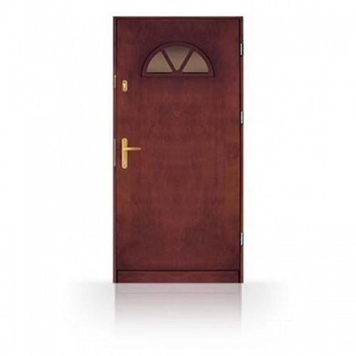 Masivní vchodové dřevěné dveře CN14-80
