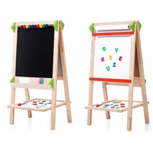 Dětská tabule oboustranná AL-K, 90 cm