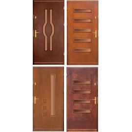 Dřevěné dveře Nova 90